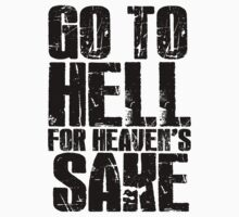 Bring Me The Horizon - Go To Hell For Heaven's Sake by amaimoose