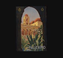 'Palermo' Vintage Travel Poster (Reproduction) Unisex T-Shirt