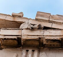 Parthenon pediment horses by Yevgeni Kacnelson