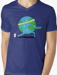 Global Warming Up Mens V-Neck T-Shirt