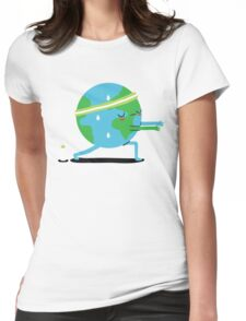 Global Warming Up Womens Fitted T-Shirt