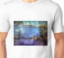 Inspirational Lao Tzu spiritual Courage quote Unisex T-Shirt