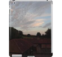 Sunset in the country iPad Case/Skin