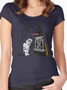 A Little Short Women's Fitted Scoop T-Shirt