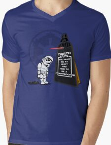 A Little Short Mens V-Neck T-Shirt