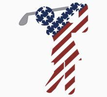 USA Womens Golf by Gravityx9