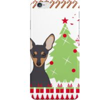 Miniature Ugly Christmas Sweater iPhone Case/Skin