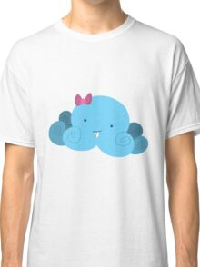 Cute Blue Bucktooth Octopus Classic T-Shirt