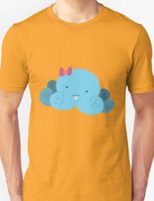 Cute Blue Bucktooth Octopus Unisex T-Shirt