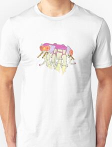 Ancient Psychic Tandem War Elephant T-Shirt