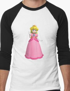 "Princess ""Peach"" Toadstool Men's Baseball ¾ T-Shirt"