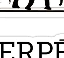 HERPES - PARIS Sticker