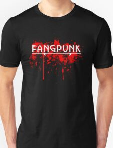 Bad Blood White Fangpunk T Shirt T-Shirt