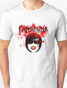 Blood spatter head darkness t shirt Fangpunk  T-Shirt