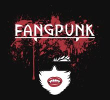 Blood spatter head light t shirt Fangpunk  by Fangpunk