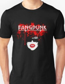 Blood spatter head light t shirt Fangpunk  T-Shirt