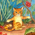 The Ginger Cat by Antea