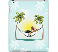 Yorkie Island Princess iPad Case/Skin