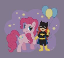 Batgirl and Pinkie Pie Kids Clothes