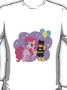 Batgirl and Pinkie Pie T-Shirt