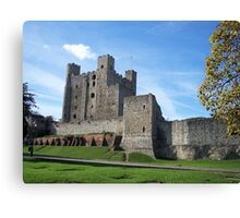 Rochester Castle in England Canvas Print