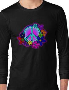 Peace Love and Flowers Tee Long Sleeve T-Shirt