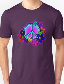 Peace Love and Flowers Tee T-Shirt