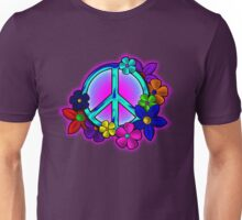 Peace Love and Flowers Tee Unisex T-Shirt