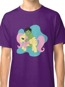 Hulk and Fluttershy Classic T-Shirt