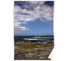 Barra Coastline Poster
