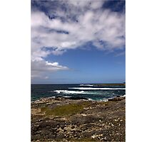 Barra Coastline Photographic Print