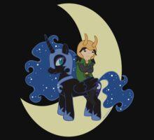 Loki and Nightmare Moon One Piece - Short Sleeve