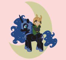 Loki and Nightmare Moon Baby Tee