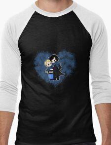 JohnLocked Scarf Men's Baseball ¾ T-Shirt