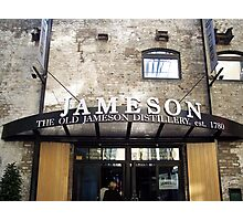 Jameson Whiskey Distillery in Dublin Photographic Print