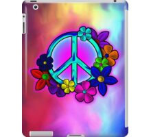 Peave Love and Flowers IPad Cover iPad Case/Skin