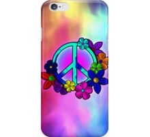 Peace Love and Flowers IPhone Case iPhone Case/Skin