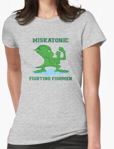 Miskatonic Fighting Fishmen Womens Fitted T-Shirt