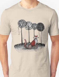 Never out fox the fox Unisex T-Shirt