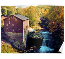 Lanterman's Mill at Mill Creek MetroPark Poster