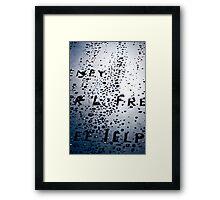Memorial Framed Print