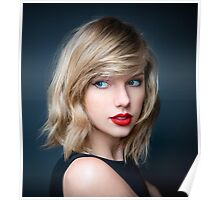 HOT TAYLOR SWIFT RED LIPS Poster