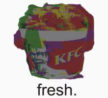 Glitched KFC Baby Tee