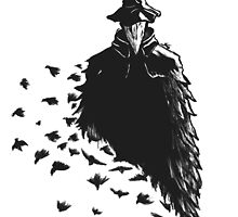 The Crow by SelBuno