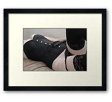 The Request Framed Print