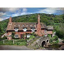 The Packhorse Bridge, Allerford, Somerset Photographic Print