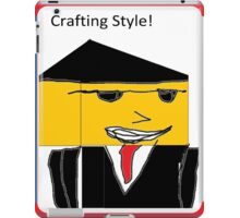 Crafting Style! iPad Case/Skin