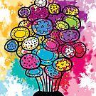 A Bouquet of Colour by Sarah Mokrzycki