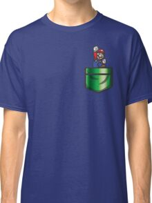 Mario Pipe Pocket Classic T-Shirt