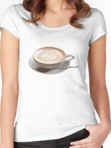 Reggie Coffee Women's Fitted Scoop T-Shirt